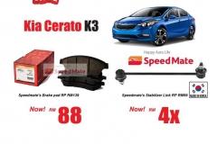 Kia Cerato K3 Promotion